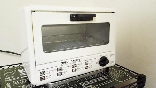 オーブントースターの掃除!重曹を使う場合と注意点