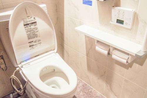 ウォシュレットのお掃除!ノズルは安心な洗剤で行いたい!!