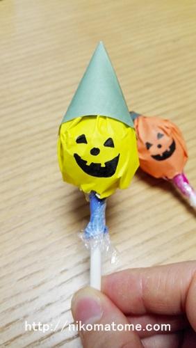ハロウィン仕様にキャンディをラッピング!?可愛く変身!