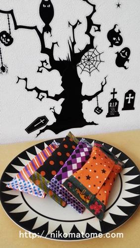 ハロウィンのお菓子は市販でも可愛く包装できる!折り紙で簡単!