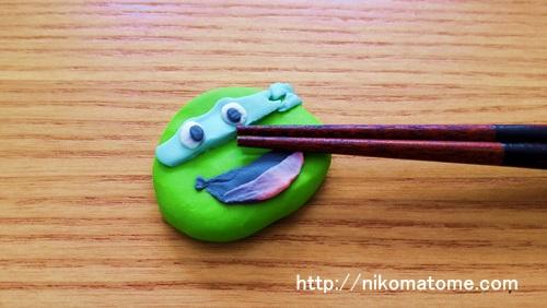 粘土で工作!箸置きを作ってみました