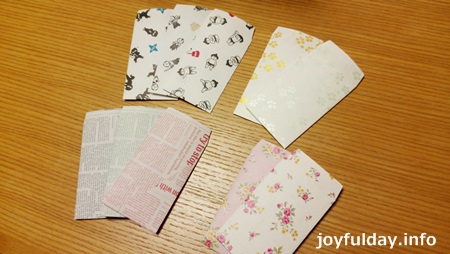 ポチ袋を手作り!折り紙で簡単に定番型を作るには?!